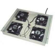 Ventil Techo Gabitel 4 Turbinas Negro