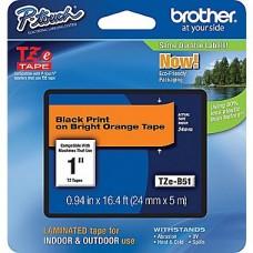 Brother Cinta Negra/fluoresente Naranja