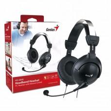 Genius Auricular-mic Hs-m505x Negro