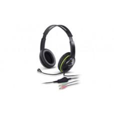 Genius Auricular-mic Hs-400a Verde